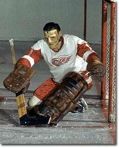 Forty-one years ago this year the Hockey Hall of Fame waived its mandatory five year waiting period to induct former Red Wing goalie Terry Sawchuk who had tragically died the […] Ice Hockey Teams, Hockey Goalie, Hockey Players, Detroit Hockey, Detroit Sports, Michigan Hockey, Detroit Michigan, Detroit Red Wings, Red Wings Hockey
