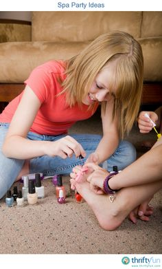 This is guide about spa party ideas. The spa party is a popular theme for young girls birthday parties.