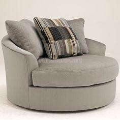 Nebraska Furniture Mart U2013 Ashley Oversized Mocha Round Swivel Chair. I  Really Like These, Theyu0027re So Comfy | House A Home | Pinterest | Nebraska  Furniture ...