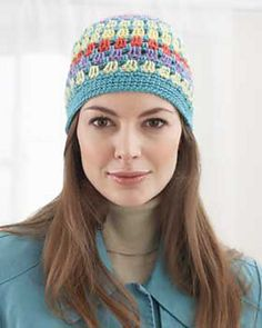 Nice beanie for cool Spring days or Summer nights.  Also great stash buster. As usual going to make it with 100% cotton.