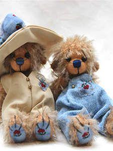 Britt Bears - Artist Bears and Handmade Bears