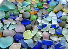 Love collecting sea glass