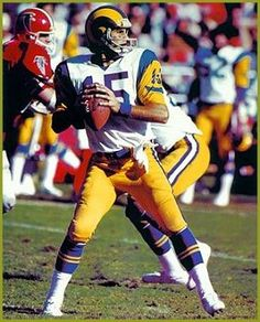 Vince Ferragamo. QB of the LA Rams and my 2nd favorite QB ever.