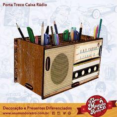 Porta Treco Caixa Rádio.