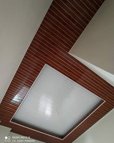 Pvc Ceiling Panels, Pvc Ceiling Design, Plaster Ceiling Design, Wood Plank Ceiling, Pop False Ceiling Design, Wood Planks, Stair Design, Balcony Ideas, Architecture Design
