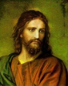 Traditional art work of Jesus Christ.