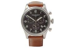 Mougin & Piquard x J.Crew Stainless Steel Chronograph - Mougin & Piquard teamed up with J.Crew to create this watch, a ...