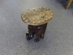 Small elephant side table ------------ £7.50 (pc128)