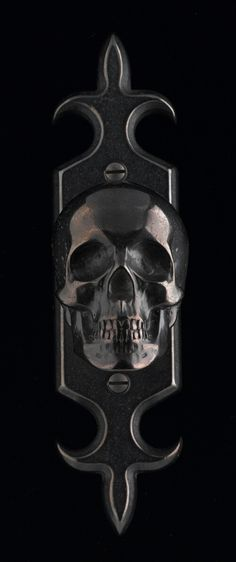 Skull Door Knob by Faucetto (2)
