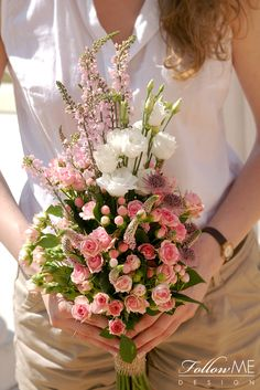 Rustykalny Bukiet ślubny / Bukiet ślubny w stylu boho / Rustykalne dekoracje ślubne od FollowMe DESIGN / Boho Wedding Bouquet / Rustic Wedding Decorations & Details by FollowMe DESIGN
