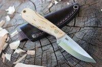Enzo Necker Curly Birch Bushcraft, Kitchen Knives, Finland, Birch, Curly, How To Make, Japanese Kitchen Knives
