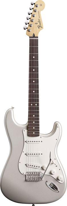 Fender FSR Mexican Standard Strat in White Chrome Pearl Finish