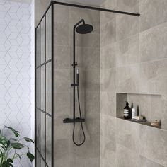 dé badkamer trends van 2019 Black and industrial; view the bathroom trends of Steam Showers Bathroom, Bathroom Toilets, Bathroom Faucets, Bathroom Storage, Small Bathroom, Minimal Bathroom, Bathroom Organization, Remodel Bathroom, Marble Bathrooms