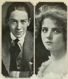Jack Pickford, Olive Thomas, a successful silent film actress.  She died tragically of accidental poisoning and her ghost is said to haunt the New Amsterdam Theatre.