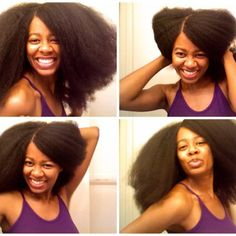 What to Expect in Your First Year of Transitioning to Natural Hair | Black Girl with Long Hair