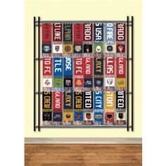 Wembley | Soccer Scarf Display Rack