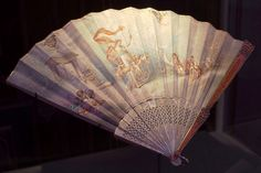 Faberge Fan, Imperial Jeweler to the Tsars via the Houston Museum of Natural Science.