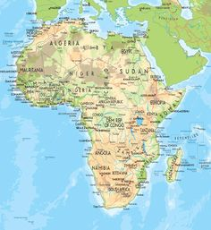 Africa map countries and capitals the country capitals quiz map africa map countries and capitals gumiabroncs Images