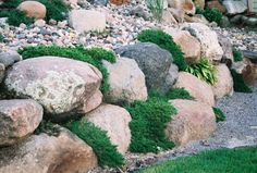 Like the mixture of smaller rocks above