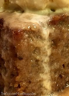 The BEST Sticky Toffee Pudding Cake ever! Maybe the best cake period! The Soccer Mom Blog