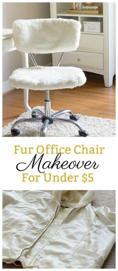 Office Chair Makeover for Under $5