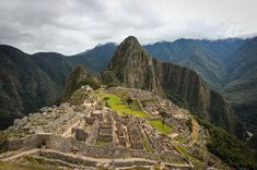 3. Machu Picchu, Peru Avoid the tourist route and get off the beaten path on to these Incan ruins on a 44.5 mile backpacking trip.