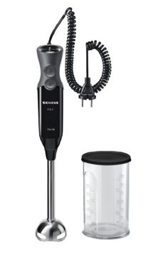 Siemens MQ67110 FQ.1 Stabmixer / 750 Watt / Edelstahl-Mixfuß / flexibles Spiralkabel / ergonomische / schwarz: Amazon.de: Küche & Haushalt