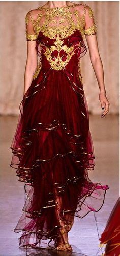 A dress befitting a fire nation princess!