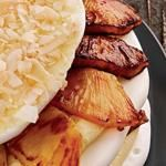 Pineapple Coconut Meringue Torte Recipe | Epicurious.com