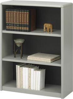 Safco 3-Shelf ValueMate Economy Bookcase 7171GR