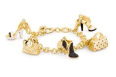 Rosato Jewels Bracciale #rosatogioielli #bracciale #bracelet #argento925 Bracciale in argento 925 catena con placcatura in oro e charm - composizione 8