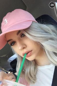 Amanda Steele = : so many selfies lately im sorry ( omg just noticed i tend to selfie with straws lmao ) _ @makeupbymandy24