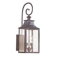Troy Lighting TBCD9001OBZ Newton Entrance Outdoor Wall Light - Old ...