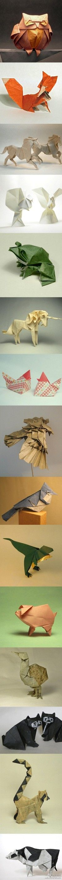 Beautiful origami.... (Click to view full size.)