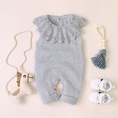Autumn Sleeveless Knitted Romper – DailyBestBuys