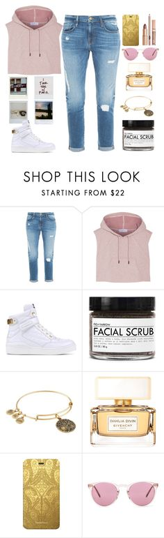 """""""March Madness: High Tops"""" by lovesammi98 ❤ liked on Polyvore featuring Frame Denim, adidas, SAM, Moschino, Fig+Yarrow, Alex and Ani, Givenchy, Christian Lacroix and Oliver Peoples"""