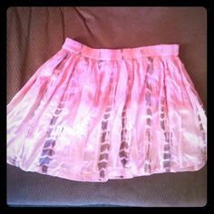 American Eagle flirty tie die skirt size l Lined. 100% viscose. American Eagle Outfitters Skirts Mini
