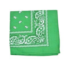 """Size: 22"""" x 22"""" 100% Cotton These Novelty Paisley Cotton Bandanas can be used as hair covering/headband/necktie...can be worn on the face or head, around the neck or arms High quality unisex bandana Original paisley print"""