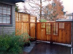 Ahlborn | Products | Wood Fences | Gates