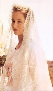 Donna Paola Ruffo di Calabria married Prince Albert of Belgium on 2nd July 1959