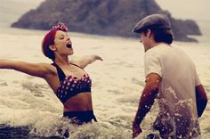 "I love that bikini!  Picture from the movie ""The Notebook"""