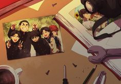 Although I'd never want this future to happen, they are all very cute middle-schoolers. :) --Detective Conan--