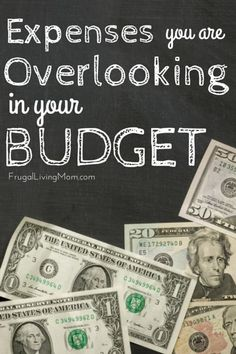 Why can't you seem to get a break when it comes to the household budget? Chances are, you're overlooking a few expenses that are killing your budget Living On A Budget, Frugal Living, Budgeting Finances, Budgeting Tips, Ways To Save Money, Money Saving Tips, Household Budget, Show Me The Money, Financial Success