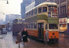 """New Tram"" Old Glasgow"