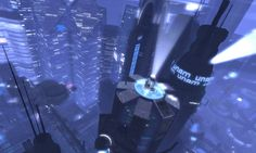 The future is leaking backward in the form of InSilico, a high-end cyberpunk role playing sim in Second Life.