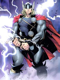 Thor written by J. Michael Straczynski, art by Olivier Coipel, Mark Morales and Laura Martin. This made Thor interesting and officially made me a fan of Marvel. Then they let someone else write. Marvel Comics, Hq Marvel, Marvel Heroes, Rogue Comics, Marvel Comic Character, Comic Book Characters, Marvel Characters, Comic Books, Univers Marvel