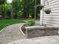 Exceptional Pea Gravel Walkway Design, Pictures, Remodel, Decor And Ideas