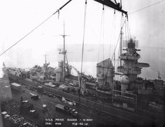 USS Prinz Eugen moored at Philadelphia Naval Shipyard, February [[MORE]]After the Second World Wars close, the German cruiser Prinz Eugen surrendered to the British Royal Navy and was. Model Warships, Hms Hood, Prinz Eugen, Heavy Cruiser, Old Images, Royal Navy, Second World, Battleship, World War Two