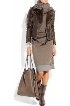 Cute Stylish Outfit by Donna Karan Fashion Mode, Look Fashion, Winter Fashion, Womens Fashion, Fashion Trends, Office Fashion, Mode Outfits, Fall Outfits, Casual Outfits