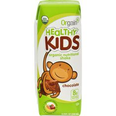 Orgain Organic Nutrition Shake - Chocolate Kids - 8.25 fl oz - Case of 12 - 10 different organic fruits and veggies Organic complex carbohydrates from brown rice 23 vitamins and minerals 8 grams of organic protein Doctor developed Gluten freeIngredients: Dong Quai Root Extract (1:1 ) 2000 mg.Other Ingredients: Purified Water, Vegetable Glycerin, 12-15% Certified Organic Alcohol. Organic: 95%+ Organic Gluten Free: Gluten Free Dairy Free: No Yeast Free: No Wheat Free: No Vegan: No Kosher: Yes…